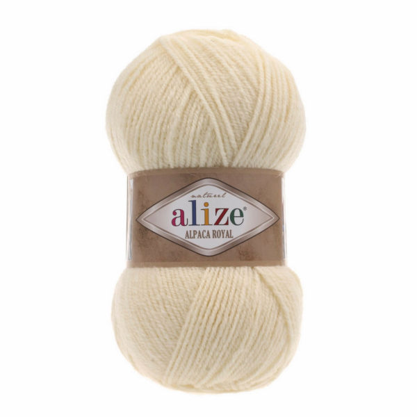 ALPACA ROYALcolor 1 Cream