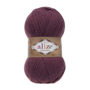 Пряжа Alize Alpaca Royal-169 Спелая вишня