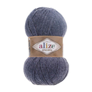 Пряжа Alize Alpaca Royal-203 Джинс меланж