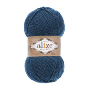 Пряжа Alize Alpaca Royal-381 Джинс