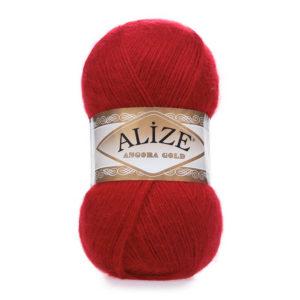 Пряжа Alize Angora Gold - 106 красный
