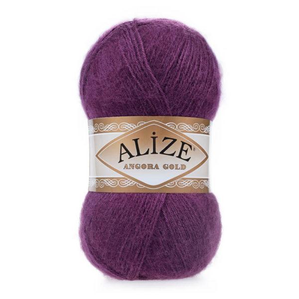 Пряжа Alize Angora Gold - 111 фиолетовый