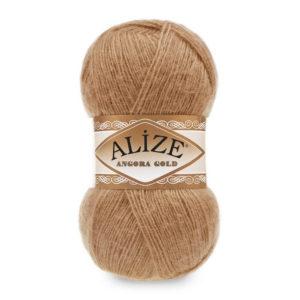 Пряжа Alize Angora Gold - 127 карамель