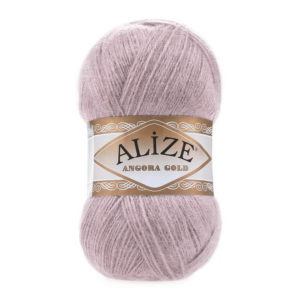 Пряжа Alize Angora Gold - 163 серая роза