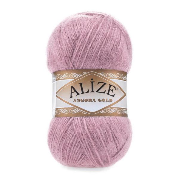 Пряжа Alize Angora Gold - 295 розовый