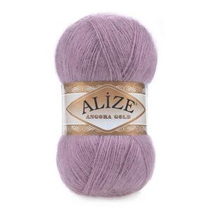 Пряжа Alize Angora Gold - 312 темно - лиловый