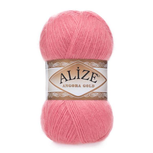 Пряжа Alize Angora Gold - 33 ярко - розовый