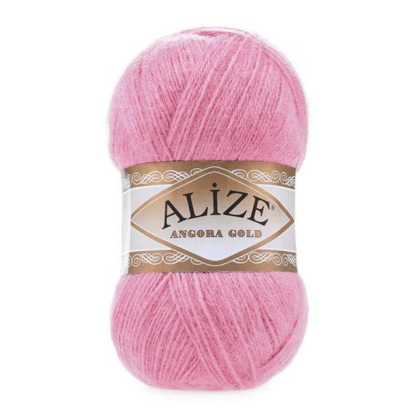 Пряжа Alize Angora Gold - 39 розовый леденец