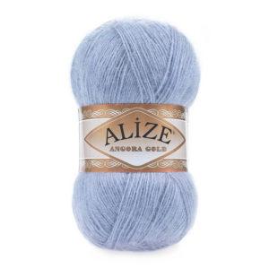 Пряжа Alize Angora Gold - 40 голубой