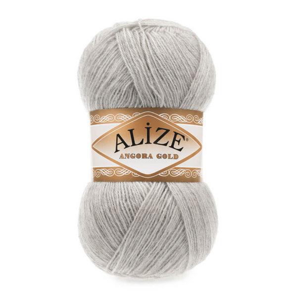 Пряжа Alize Angora Gold - 652 пепельный