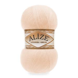 Пряжа Alize Angora Gold - 681 ярко - персиковый